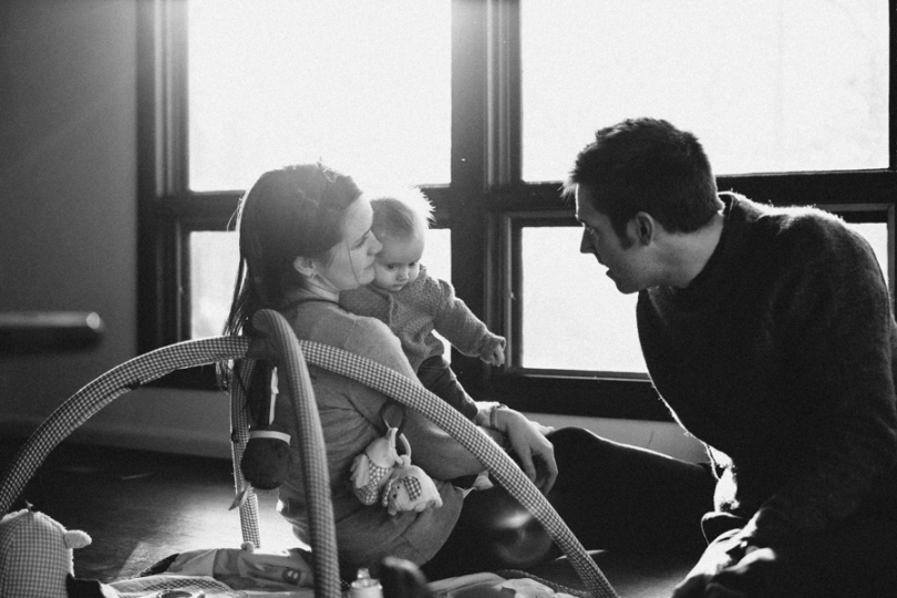 Family and Baby Photograph