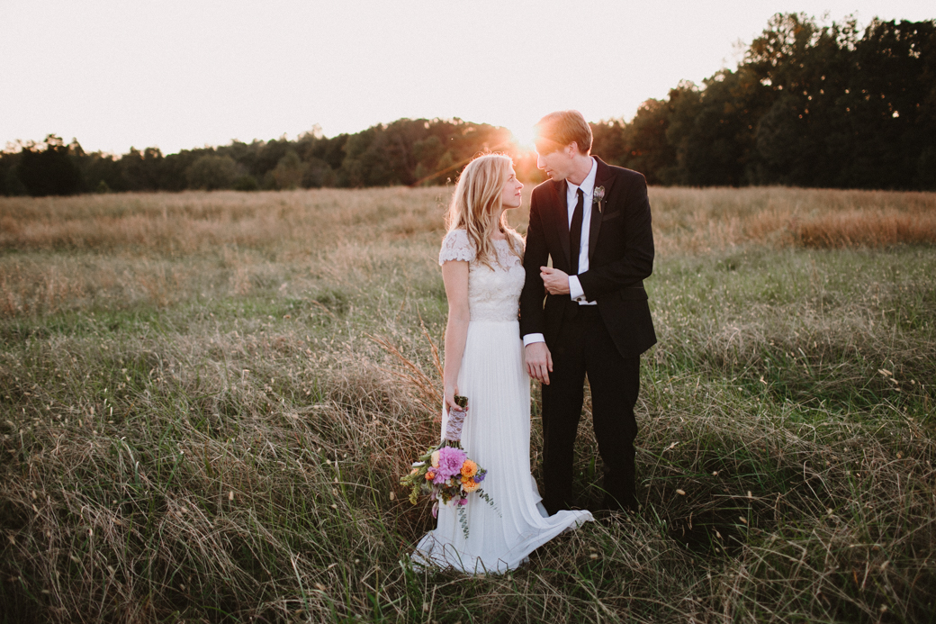 north carolina rustic farm wedding