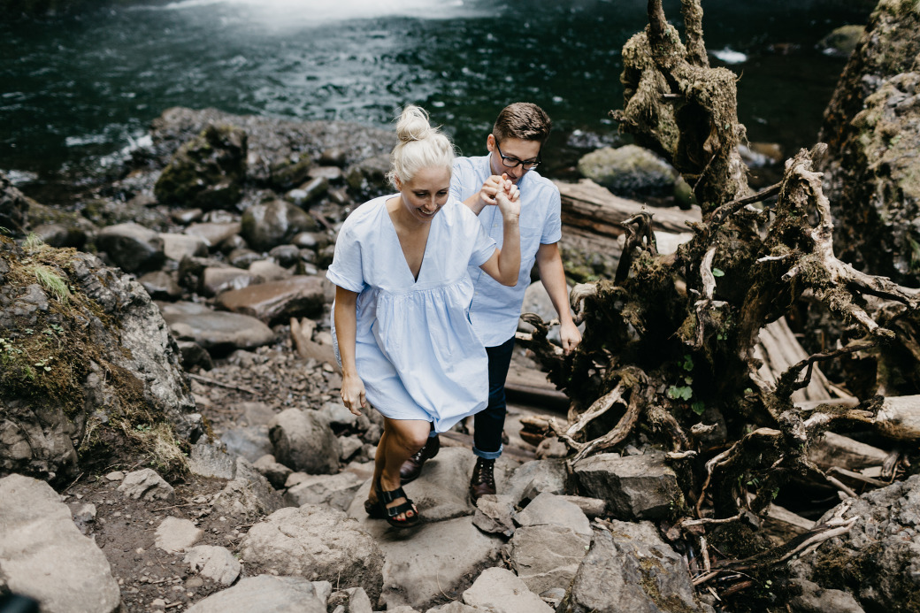 Portland Oregon Engagement Photography